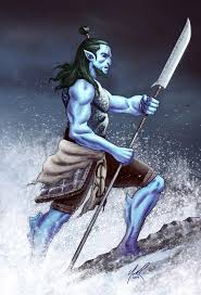 Best Fighter Triton 5th Edition D&D