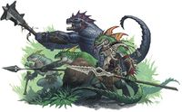 Lizardfolk d&D 5th Edition