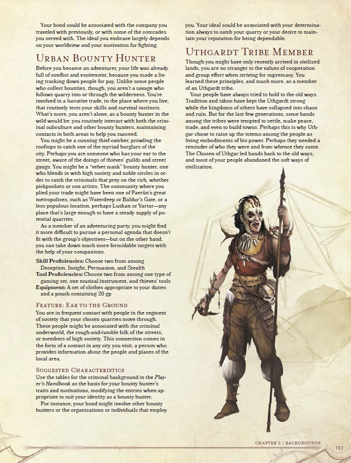 Criminal Background 5e Dnd