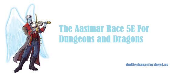 D&D Aasimar 5e