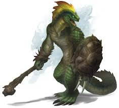 Lizardfolk 5th edition races