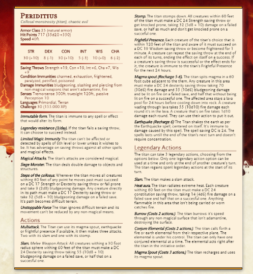 Primordial 5e (5th Edition) in D&D