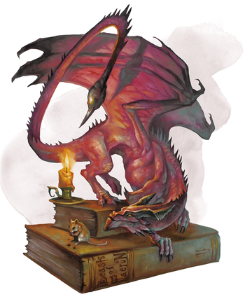 Pseudodragon 5e (5th Edition) in D&D
