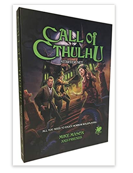 Call of Cthulhu Starter Set Character sheet